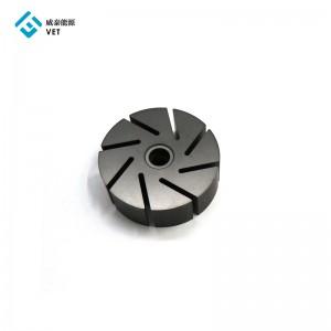 Degassing graphite rotor