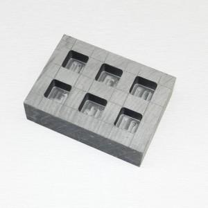 High density reinforce carbon graphite molds for metal casting /gold melting