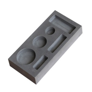 Superior expanded graphite molded, small size silver graphite mold