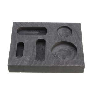 Graphite mould coating casting boats