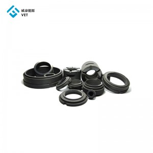 Graphite bearing for lubrication