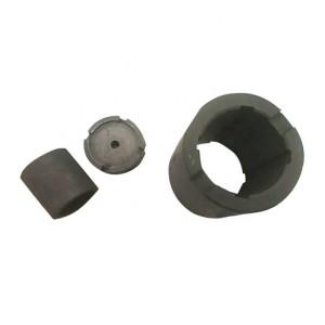 Wear-resisting graphite bush bearings