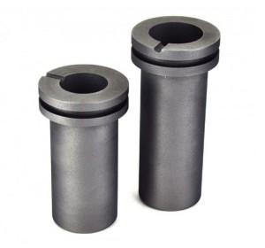 Graphite crucible for furnace for melting aluminum/gold