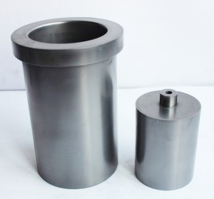High pure density induction heating graphite crucible