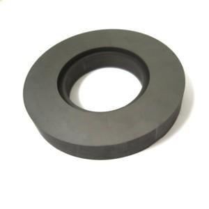 Antimony impregnated seal graphite carbon ring