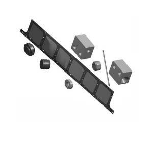 High Purity Graphite PECVD Boat for Solar Panel