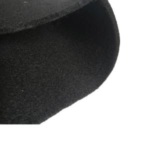 Carbon graphite felt electrode for heat isolation