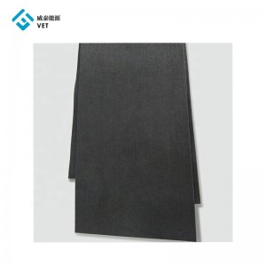 Latest products Soft carbon graphite felt for floor cover/stove support