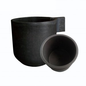 Silicon Carbide SiC Graphite Crucible, Ceramic Crucible