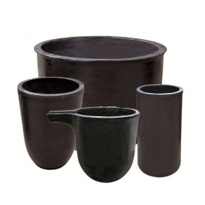 Silicon Carbide Sic Graphite Crucible for Melting Aluminum, Brass and Zinc