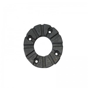 Innovative product high-purity graphite, graphite bearing ring with carbon content> 99% applied to industrial furnace