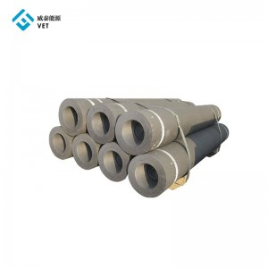 Graphite electrode and nipple for arc furnaces