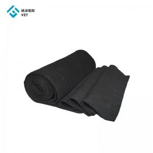 Active carbon felt, activated carbon felt fabric 5mm