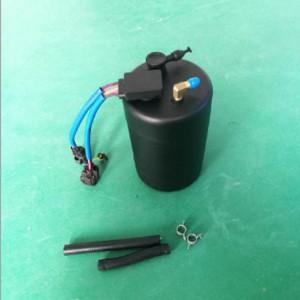 medical oxygen cylinder tanks bottle for ICU Ventilator with hose fittings