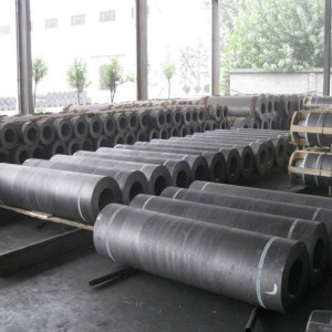 Blank Hp graphite electrode factory