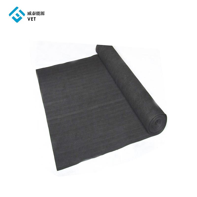 Pan Based Carbon Fiber Soft Graphite Felt for Inert gas Featured Image