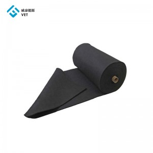 Sale graphite felt for thermal insulation